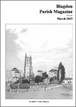 Parish magazine cover